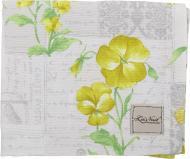 Ранер Нарцис 40x140 см сірий із жовтим La Nuit