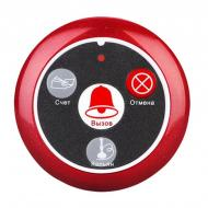 Кнопка вызова официанта беспроводная с 4-мя кнопками Retekess T117 Красная (100665)