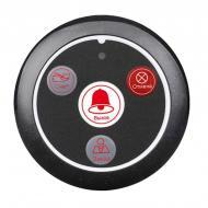 Кнопка вызова официанта беспроводная с 4-мя кнопками Retekess T117 Черная (100666)