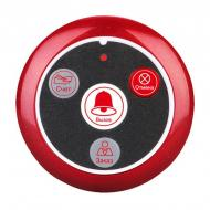 Кнопка вызова официанта беспроводная с 4-мя кнопками Retekess T117 Красная (100689)