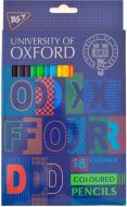 Олівці кольорові Oxford 18 кольорів YES