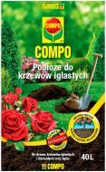 Торфосмесь для хвойных и кустарников COMPO SANA 40 л 2255