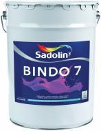 Фарба латексна водоемульсійна Sadolin Bindo 7 PROF мат білий 20л