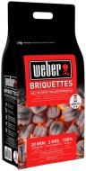 Брикеты Weber угольные Long Lasting Premium Briquettes 2 кг 17595