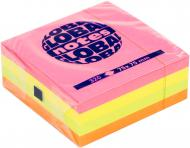 Папір для нотаток із липким шаром Cube 75х75 мм 320 шт. мікс Global Notes