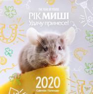 Календар «Світовид Рік миші. Удачу принесе!»