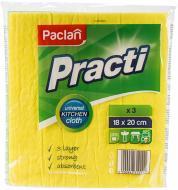 Серветка універсальна Paclan  Practi Maxi 18х20 см 3 шт./уп.