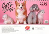 Календар «Світовид. Настільний перекидний. Піраміда. Cat & Dog»