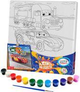 Розпис на полотні Danko Toys 31х31 с.3 (10) Машинки з вантажівкою РХ-03-05
