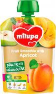 Пюре Milupa Яблоко, груша, банан и абрикос 80 г