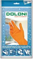 Перчатки Doloni хозяйственные с покрытием латекс M (8) 4545