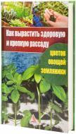 Книга Ярослава Васильєва «Как вырастить здоровую и крепкую рассаду цветов, овощей, земляники» 978-617-594-535-3
