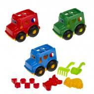 Набір для пісочниці Colorplast Сортер Бусик №2 251