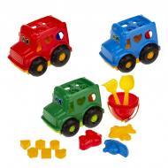 Набір для пісочниці Colorplast Сортер Бусик №3 268