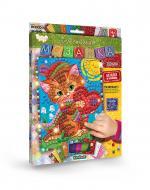 Набір сяючих елементів Danko Toys Блискуча мозаїка Кошеня БМ-02-02