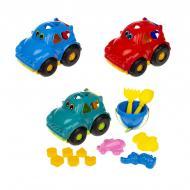 Набір для гри з піском Colorplast Сортер Автошка №3 305