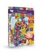 Набір сяючих елементів Danko Toys Блискуча мозаїка Поні з веселкою БМ-02-04