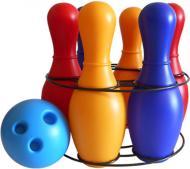 Ігровий набір Colorplast Кеглі Веселка 6 725