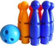 Ігровий набір Colorplast Кеглі Павутинка 9 1630
