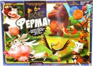 Игра настольная Danko Toys Ферма Люкс G-FL-01-01