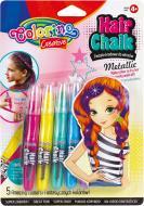 Набір олівців для декору волосся Colorino