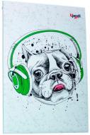 Блокнот Music note dog A5 Profiplan