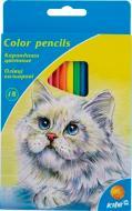 Олівці кольорові 18 шт. KITE