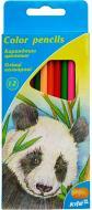 Олівці кольорові Тварини KITE