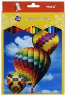 Олівці кольорові 18 цветов ЦК47-7