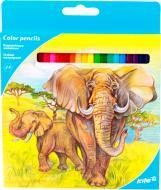 Олівці кольорові 24 шт. K17-055-1 KITE