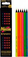Олівці кольорові 6 шт. Neon Marco