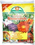 Ґрунт універсальний Greenworld для квітучих рослин 10 л