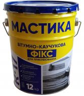 Мастика бітумно-каучукова Ореол-1 Фікс 12 кг