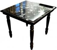 Стол журнальный SEAPS из состареного зеркала и дерева Skyblackme X9 №5253