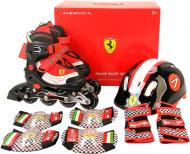 Роликовые коньки Ferrari FK11-1 ЧОРН р. 30-33 черный