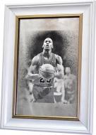 Репродукция Майкл Джордан №1729 в раме за состаренным зеркалом 28x38 см SEAPS