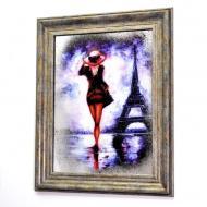 Картина на зеркале Madam In Paris №774 Mini X5 52x42 см SEAPS
