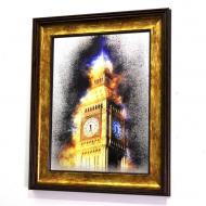 Картина на зеркале London In Gold №728 Mini X5 52x42 см SEAPS