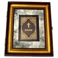 Декор настінний книга в рамі «Біблія» X5 №3353 SEAPS 56x46 см коричневий