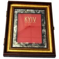 Декор настінний книга в рамі KYIV X5 №3357 SEAPS 56x46 см коричневий