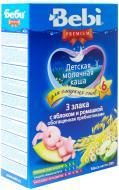 Каша молочна Bebi Premium злаки з яблуком та ромашкою 3838471023269 200 г