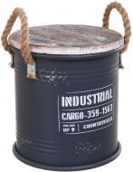 Бочка для хранения Cargo 25х26,5 см серая