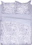Комплект постельного белья Lily 2 голубой с белым La Nuit