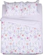 Комплект постельного белья Flora 2 розовый с рисунком La Nuit