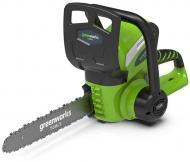 Электропила GreenWorks аккумуляторная G40CS30 20117