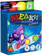 Набір крейди Danko Toys для малювання на асфальті 4 шт. MEL-01-02