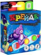 Набір крейди Danko Toys для малювання на асфальті 4 шт. MEL-01-02U