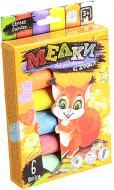 Набір крейди Danko Toys для малювання на асфальті 6 шт. MEL-01-04