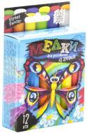 Набір крейди Danko Toys для малювання на асфальті 12 шт. MEL-02-03