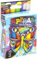 Набір крейди Danko Toys для малювання на асфальті 12 шт. MEL-02-03U